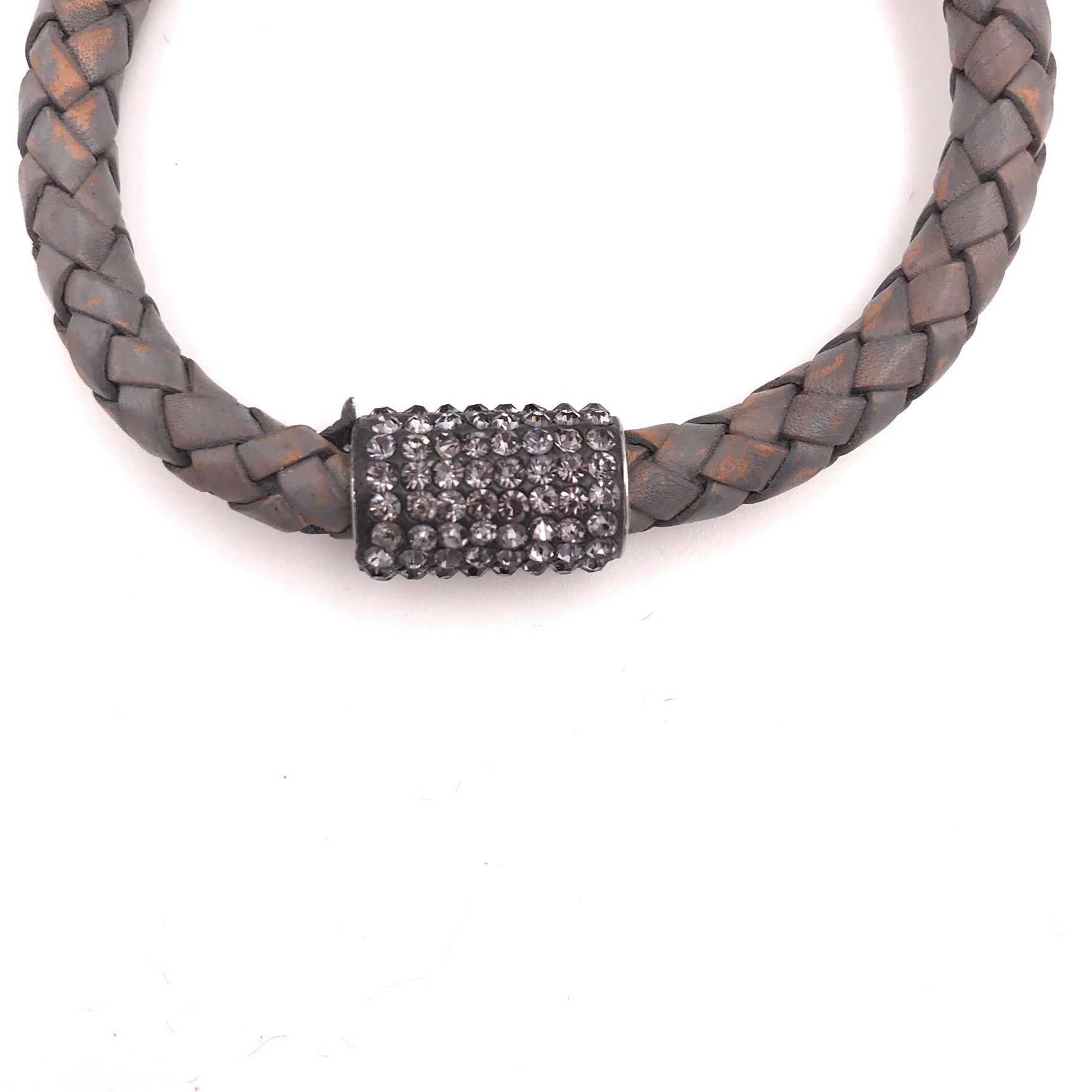 Lederarmband Grey big